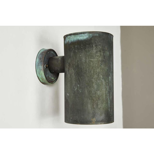 1950s 1950s Hans-Agne Jakobsson Cylindrical Outdoor Sconces - a Pair For Sale - Image 5 of 10