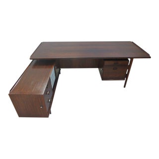 Rosewood Desk by. Arne Vodder for Sibast For Sale
