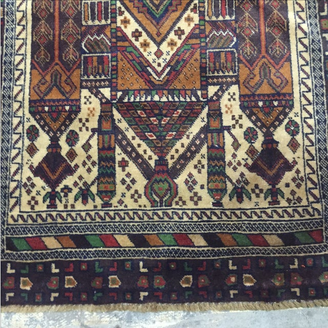 Baluchi Persian Rug - 2′3″ × 4′8″ - Image 5 of 8