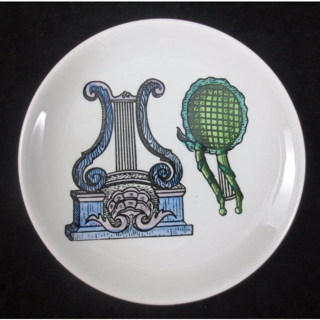 Mid-Century Bucciarelli Musical Coasters - Set of 8 For Sale - Image 11 of 12