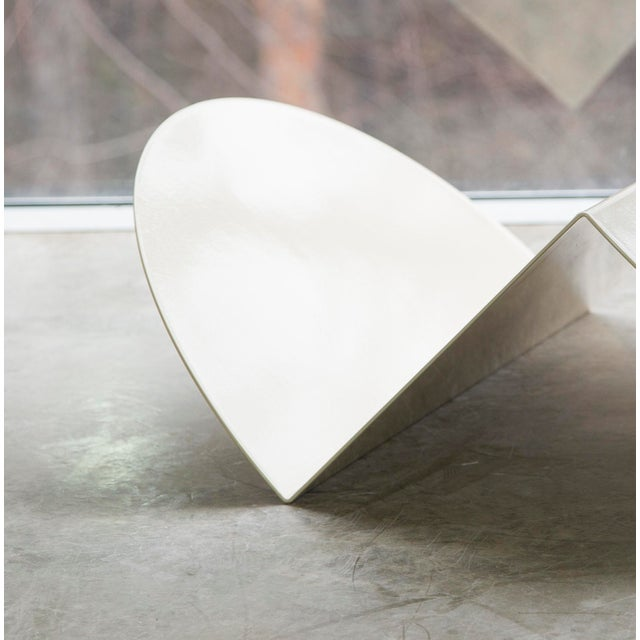 Nina Cho Sculptural Steel Floor Storage by Nina Cho For Sale - Image 4 of 5