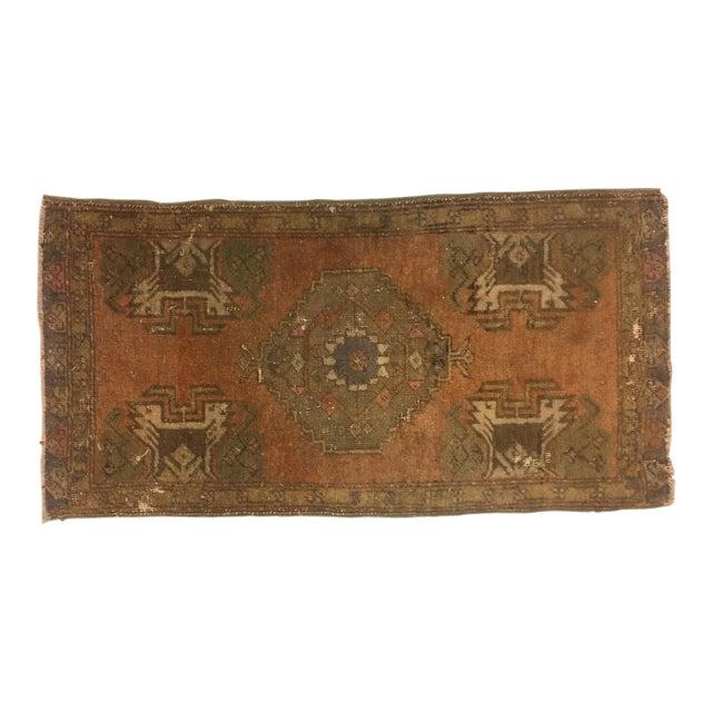 Vintage Turkish Anatolian Rug - 1′6″ × 2′11″ - Image 1 of 6