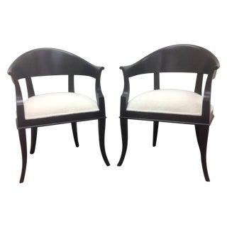 Mid-Century Modern Style Chairs - A Pair For Sale