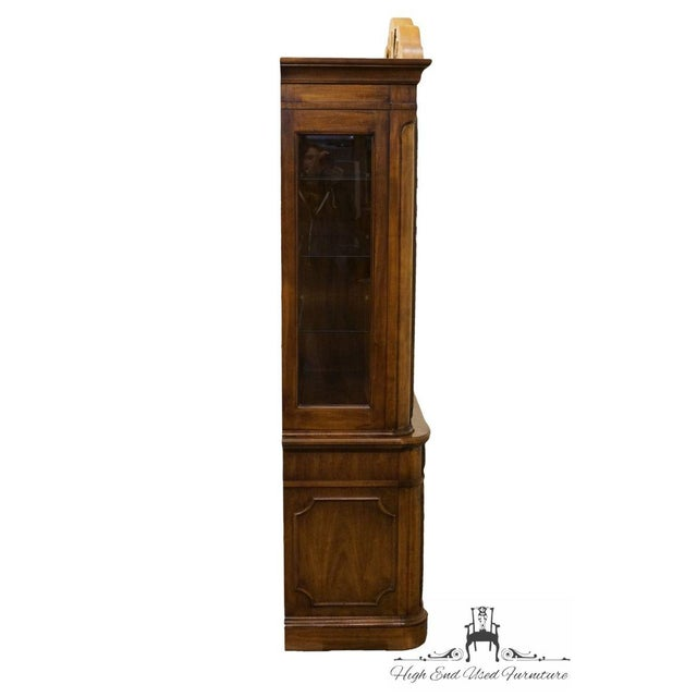 """Thomasville Furniture Contessina Collection 72"""" Lighted China Cabinet For Sale - Image 11 of 13"""