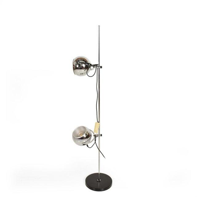 Mid Century Modern Chrome Floor Lamp by Robert Sonneman For Sale - Image 10 of 10
