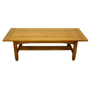 20th Century Traditional Lane Furniture Cocktail Table For Sale