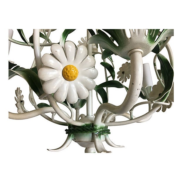 1950s 1950s Italian Daisies Chandelier For Sale - Image 5 of 8