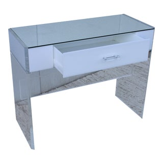 Mid-Century Modern Lucite Desk For Sale