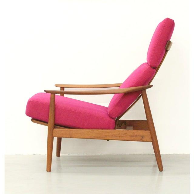 Danish Teak Lounge Chair Arne Vodder France & Son For Sale - Image 5 of 11
