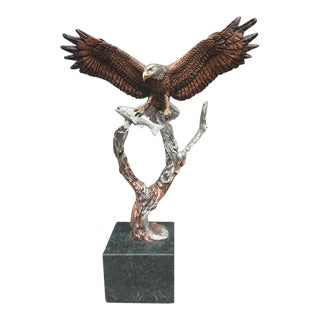 Unbound - Eagle Sculpture by Kitty Cantrell