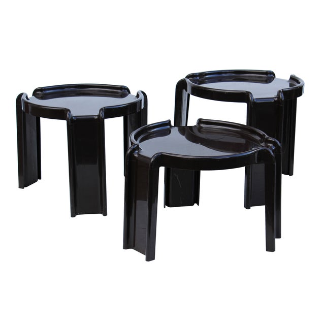 Giotto Stoppino Stacking Tables - Set of 3 - Image 5 of 7