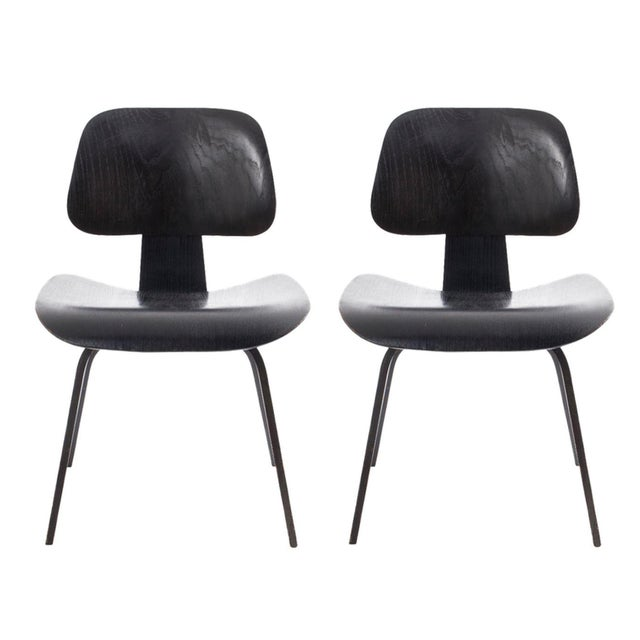 Eames DCW Chairs - A Pair - Image 1 of 7