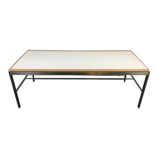 Woodcraft Inc. Metal Laminate & Oak Table