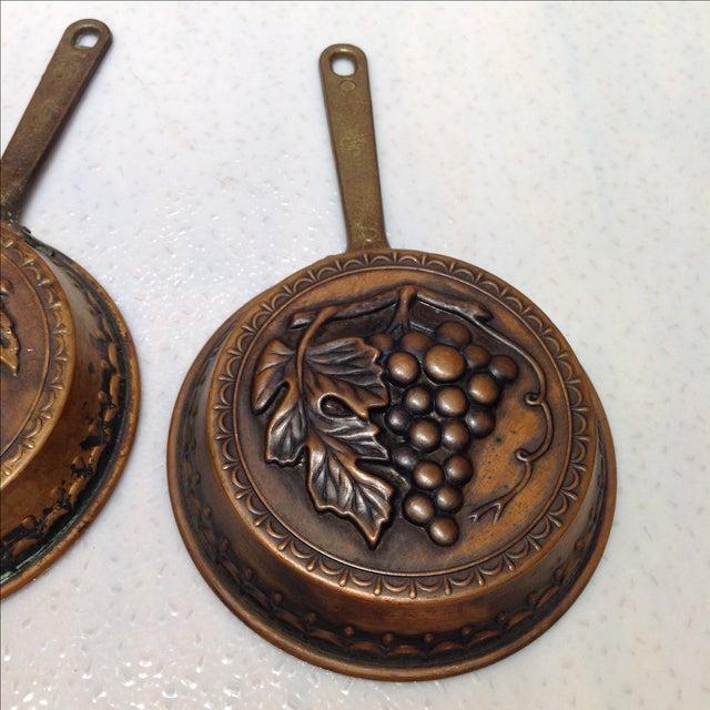 Swedish Copper Dessert Molds - Pair - Image 4 of 6