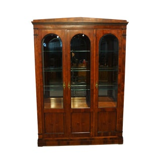 "Century Furniture Italian Provincial 59"" Illuminated Display China Cabinet - 861-423 For Sale"