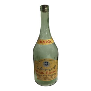 Antique Cognac Champagne Bottle For Sale