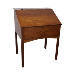 19th C. Cherry School Master's Desk