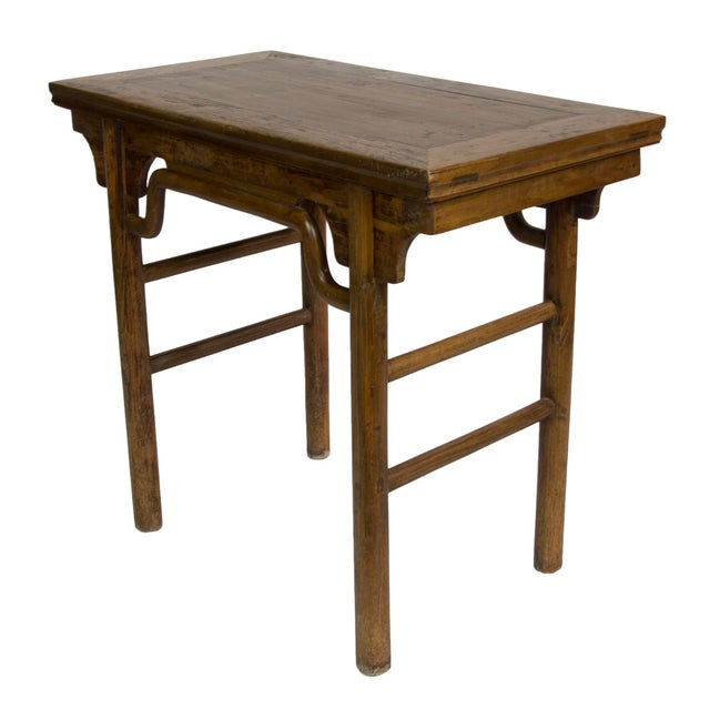 Vintage Asian Inspired Rattan Table - Image 1 of 3