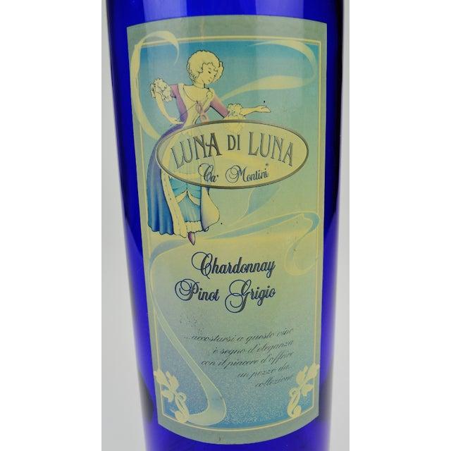 Italian Luna di Luna Wine Display Bottle For Sale - Image 3 of 7