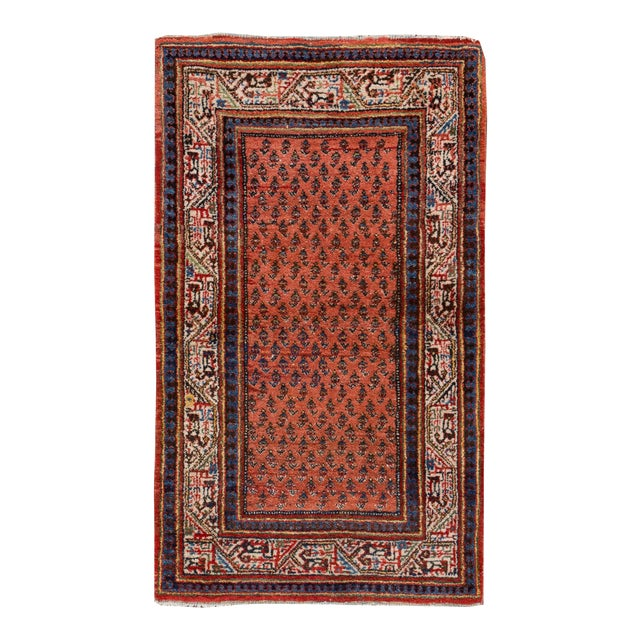 "Persian Hamadan Rug, 2'8"" x 4'5"" For Sale"