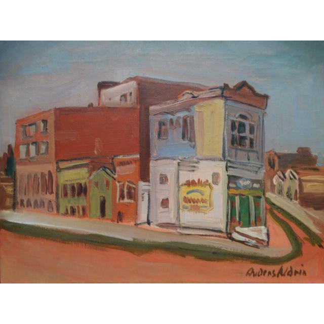 "1940 Anders Aldrin ""Island City"" Alameda Painting - Image 3 of 6"