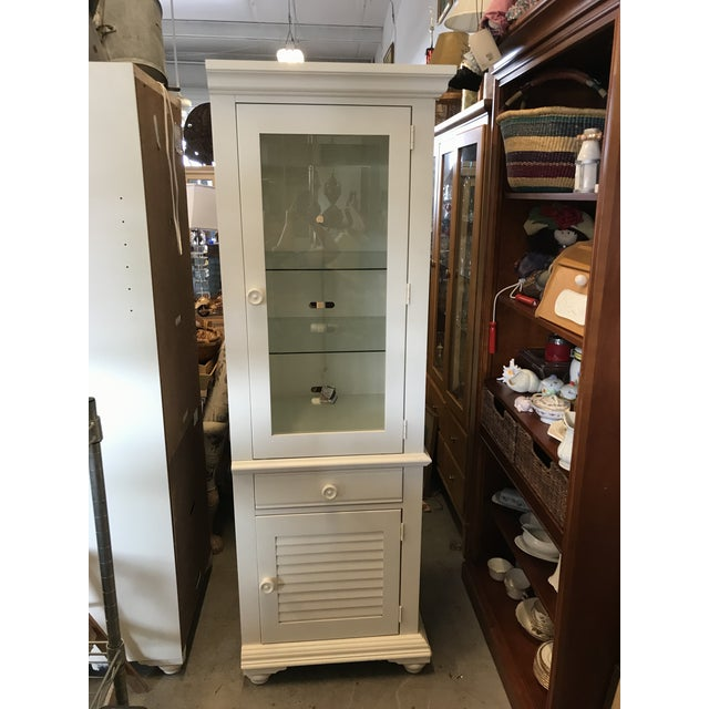 Broyhill Furniture Beach Cottage Style Cabinet For Sale - Image 11 of 11