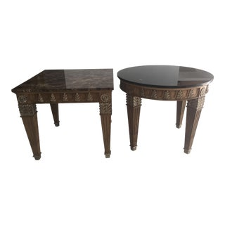 Marge Carson Transitional Side Tables For Sale