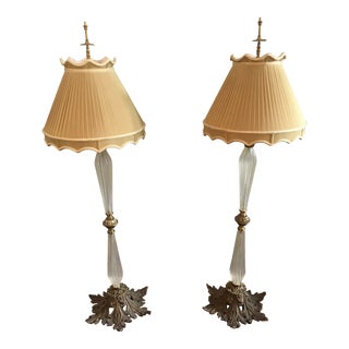 Chelsea House Lamps - a Pair For Sale