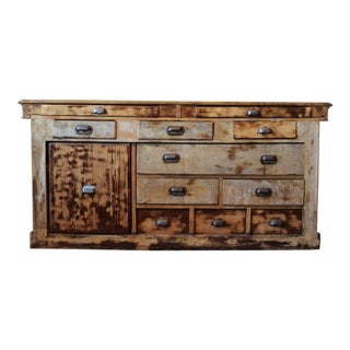 Early 20th Century Parisian Shop Counter For Sale
