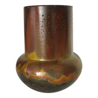Norman Bacon Studio Ceramic Raku Pot