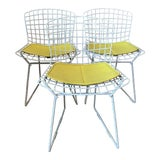 Image of 1950s Vintage Harry Bertoia Child's Chairs - Set of 3 For Sale