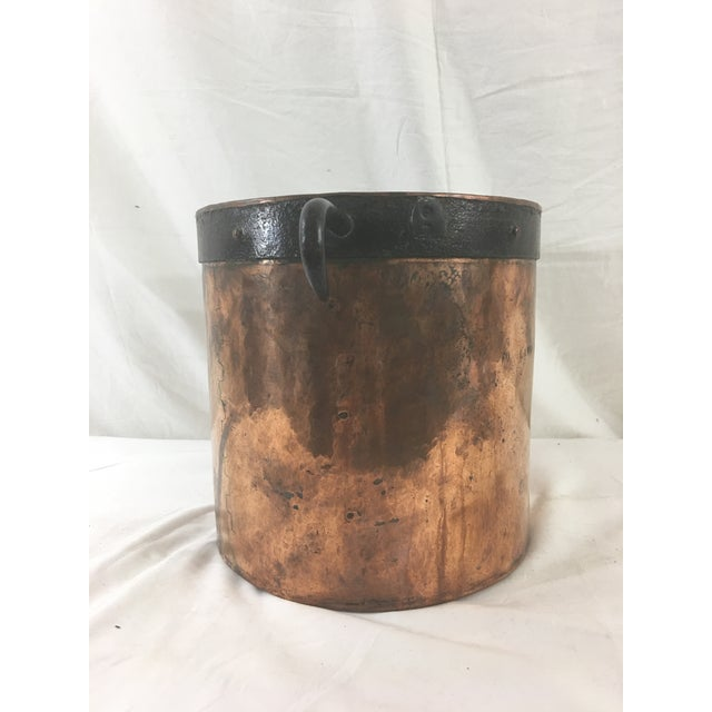 Copper 19th Century Copper Boiling Pot For Sale - Image 7 of 11