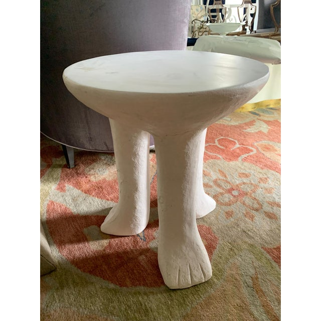 Mid 20th Century John Dickinson Style Africa Side Table For Sale - Image 5 of 8