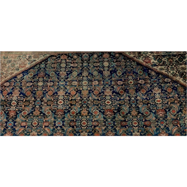 Antique Persian Palatial Rug For Sale - Image 4 of 9