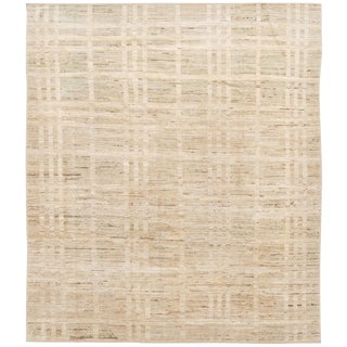"21st Century Modern Moroccan-Style Rug, 8'7"" X 9'10"" For Sale"