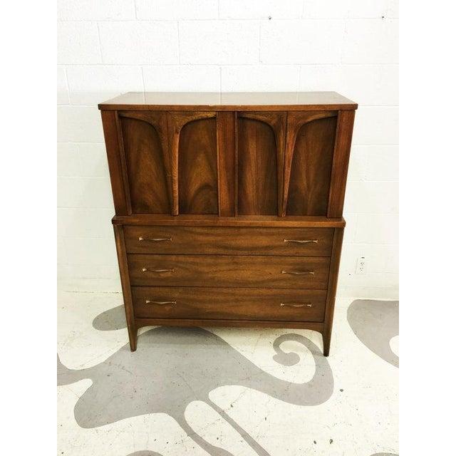Mid-Century Modern Tallboy Dresser - Image 5 of 6