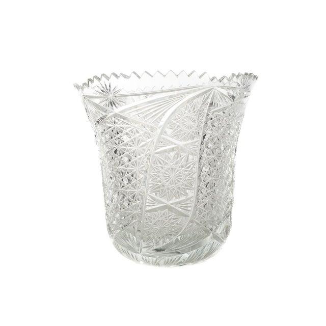 Antique American Brilliant Cut Glass Vase Chairish