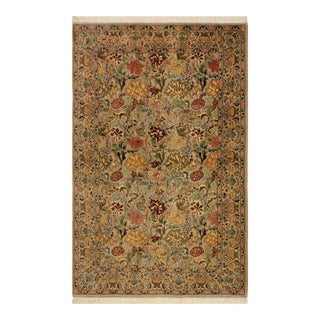 Pak-Persian Jeni Lt. Gray/Gold Wool Rug - 4'1 X 6'2