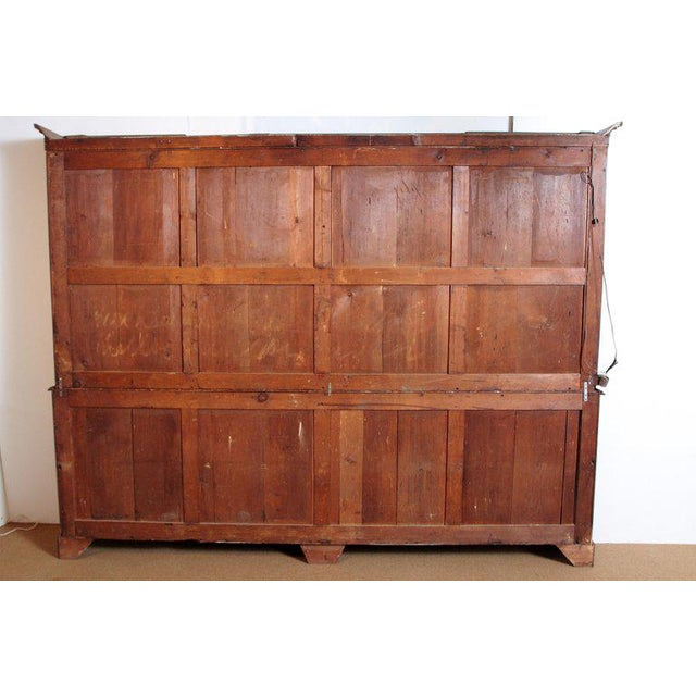 Late 18th Century George III Mahogany Breakfront For Sale - Image 10 of 13