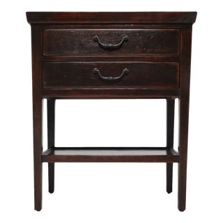 Traditional Bernahrdt 2-Drawer Molasses Nightstand For Sale