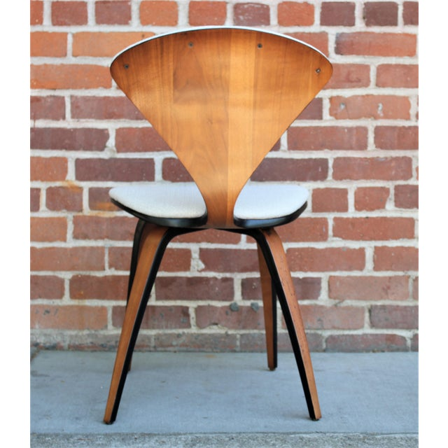 1950s Vintage Norman Cherner for Plycraft Molded Plywood Dining Chairs- Set of 6 For Sale - Image 12 of 13