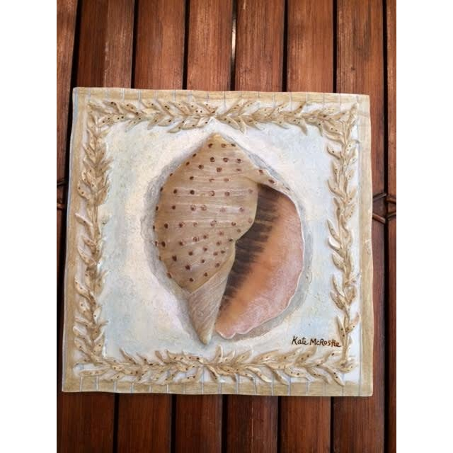 Kate McRostie Shell Wall Plaques - Set of 4 For Sale - Image 5 of 6