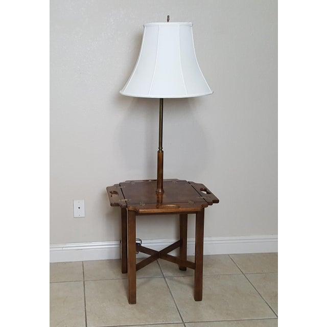 Vintage Knob Creek Mid Century Table Floor Lamp For Sale - Image 13 of 13