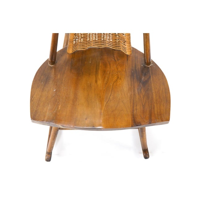 Vintage Arthur Umanoff for Washington Woodcraft Rocking Chair For Sale - Image 9 of 10
