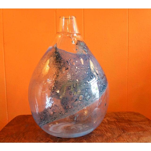 Pukeberg Glass Company Pukeberg Eva Englund Art Glass Vase For Sale - Image 4 of 12