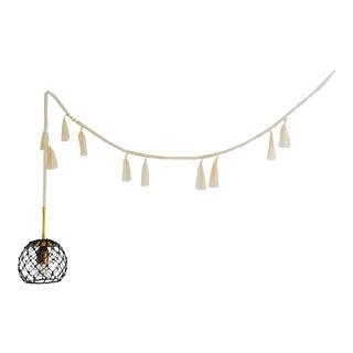 Houppe Tassel Pendant Light For Sale