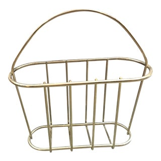 Brass Bar Wire Magazine Holder