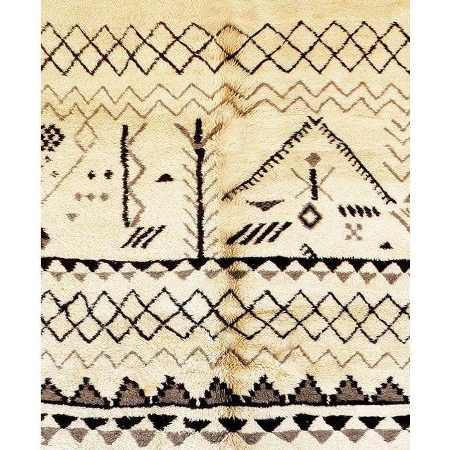 "Beni M'Rirt Moroccan Rug, 7'2"" x 10'4"" feet - Image 2 of 3"
