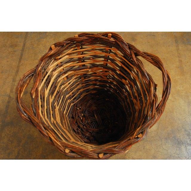 French Vineyard Harvest Basket - Image 4 of 5