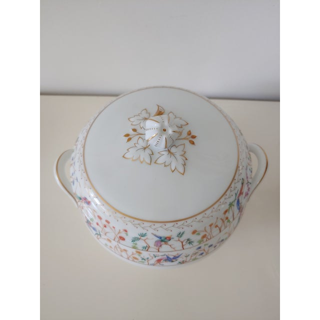 Tiffany and Co. 1990s Tiffany Audubon Soup Tureen For Sale - Image 4 of 9